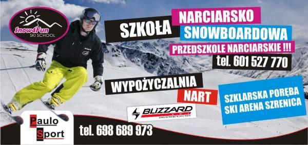 Szkoła narciarska i snowboardowa Snow4Fun