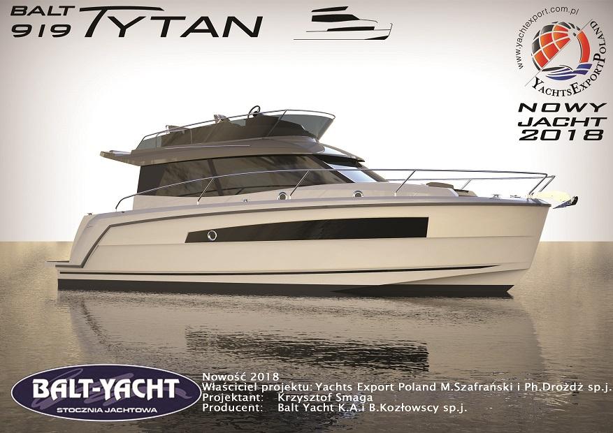 Balt 959 Tytan to nowy model łodzi ze stoczni w Augustowie