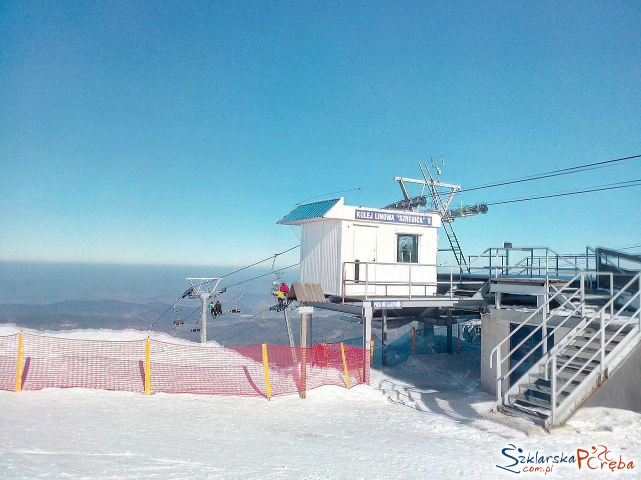 Szrenica II górna stacja