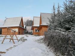 Urokliwy domek w górach